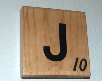 Personalized Wood Scrabble Wall Tiles