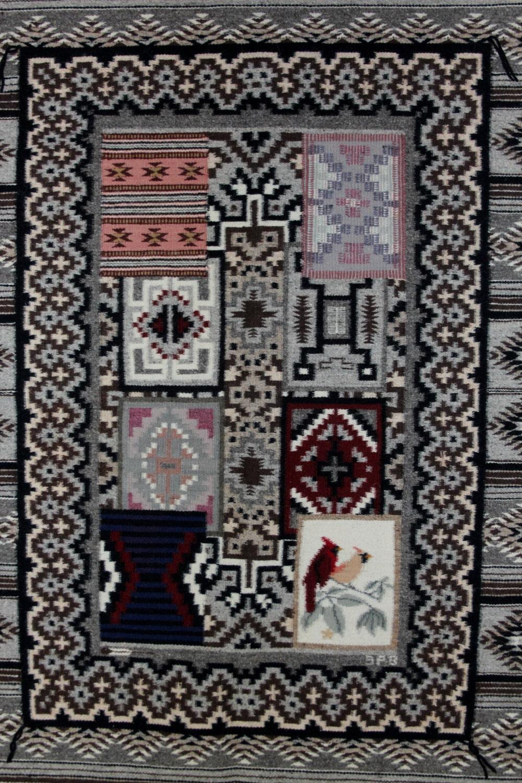 Navajo Pictorial Rug Native American Rug Wool Navajo Rugs