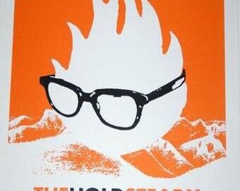 Hold Steady Montana 2008 original concert poster silkscreen