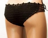 Crochet fishnet bikini BeachWear 2016 Summer Trends!  summer bikini panties, sexy clothes, beachwear, lingerie for women, LoveKnittings