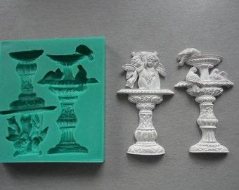 Silicone Mould / Antique Fountains / Sugarcraft Cake Decorating Fondant / fimo mold