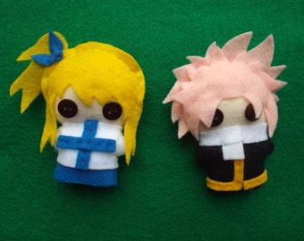 Fairy Tail Anime Series: Plushie Characters