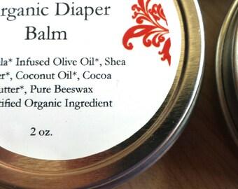 Organic Diaper Balm