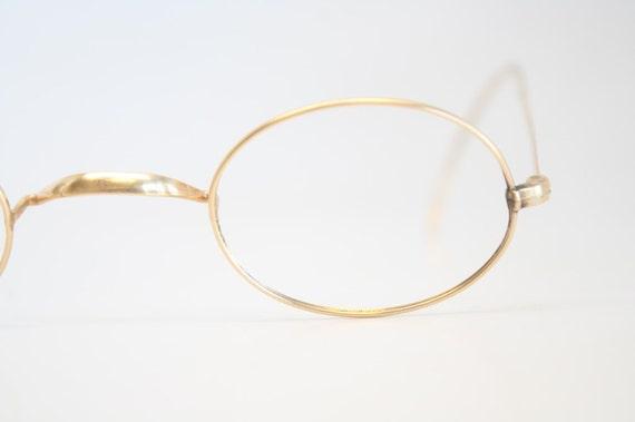 Items similar to Antique Eyeglass Frames Vintage Gold ...