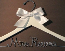 1 Week Production FLASH SALE Today ONLY! Bride Hanger Wedding Party Personalized Hangers Custom Bridal Party Hangers