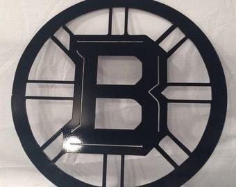 Boston Bruins Metal Art, wall art