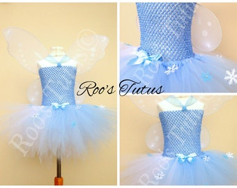 Periwinkle Fairy, (Tinkerbell) inspired tutu dress costume (Handmade). dress up