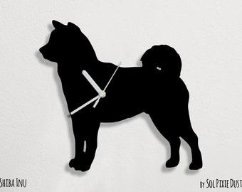Shiba Inu Dog - Wall Clock
