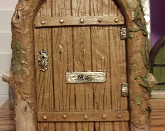 Fairy door, Gnome door, Garden decor