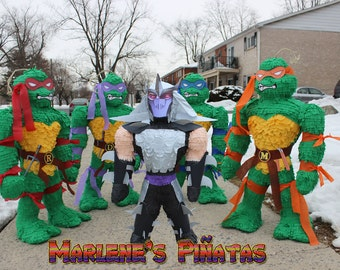 Shredder or Ninja Turtles pinatas...!