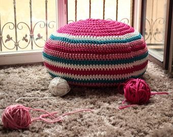 Floor pouf ottoman - Tasty Zephyr