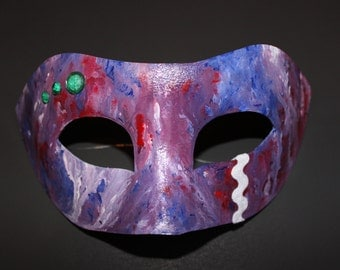 Colorful dripping mask