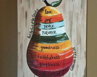 Fruit of the Spirit Canvas Painting