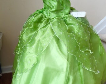 Tinker Bell  dress Costume, Tinker Bell dress for Girls