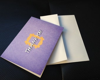 FRIENDS TV Show Thank You Cards, Thank You Notes for FRIENDS Bridal Shower, Birthday Party, Baby Shower, Friends Tv Show Cards