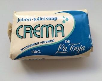 Vintage Spain Soap Bar Crema de La Toya