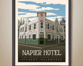 NAPIER HOTEL, Fitzroy, Melbourne