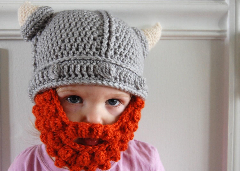 Free Crochet Pattern For Viking Hat With Beard ~ Pakbit for .