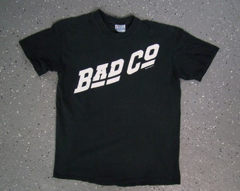 Bad Company First Album Cover T Shirt Holy Water Tour 1990 (Medium)