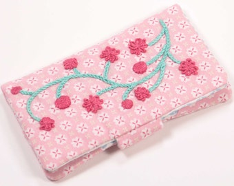 PDF Mobile / Cell phone Case embroidery and sewing PDF pattern for instant download