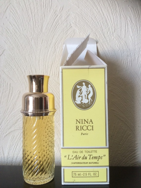 L Air Du Temps By Nina Ricci Paris Vintage Eau By