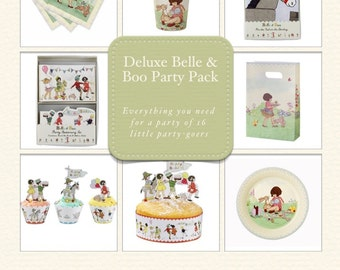 Retro Belle & Boo Party Pack for 16 Guests