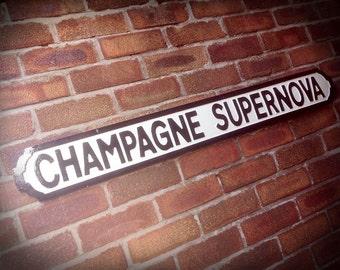 Oasis Champagne Supernova Street Sign