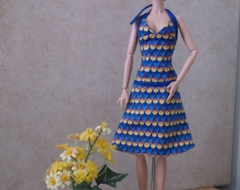 Halter Style Dress For Fashion Royaty