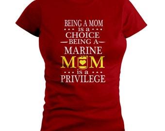 US Marine Corp Mom T-SHIRT
