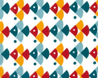 Marine Too fabric by Birch, 1/4 metre or more, organic fabric, online quilting fabric Australia