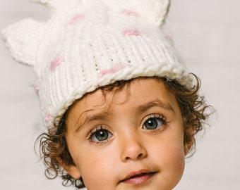 Sophie Giraffe Knit Baby Hat