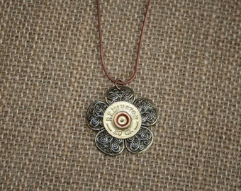 Shotgun Shell Pendant Necklaces