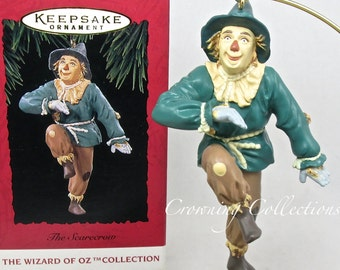 1994 Hallmark The Scarecrow Ornament The Wizard of Oz Collection Vintage Scare Crow Keepsake