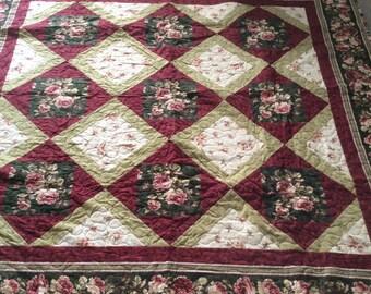 25% off Flannel lap quilt