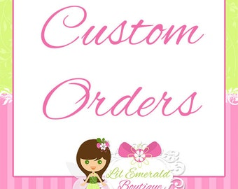 Custom Request Fee