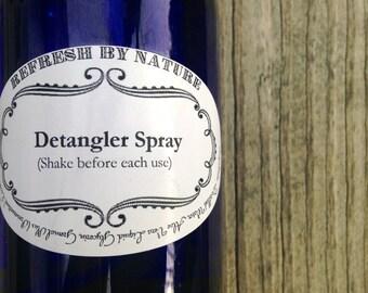De-tangler Spray:  8 oz.