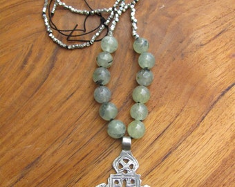 Ethiopian Cross Pendant Necklace