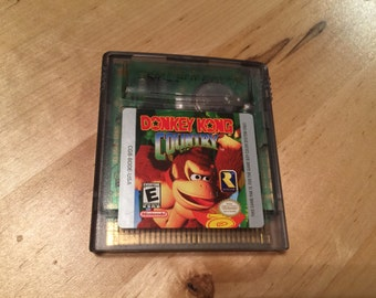 Donkey Kong Country | Game Boy | NES | Collectable and Rare | Nintendo