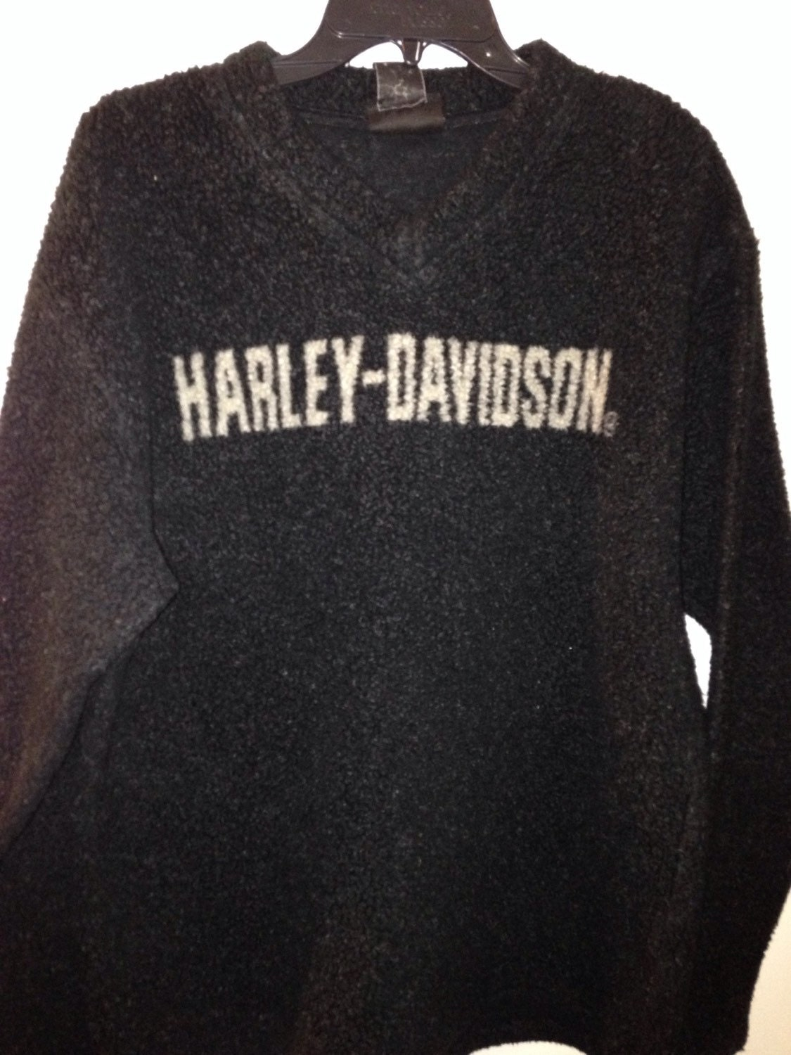 harley davidson sweater mens vintage harley fleece pullover. Black Bedroom Furniture Sets. Home Design Ideas
