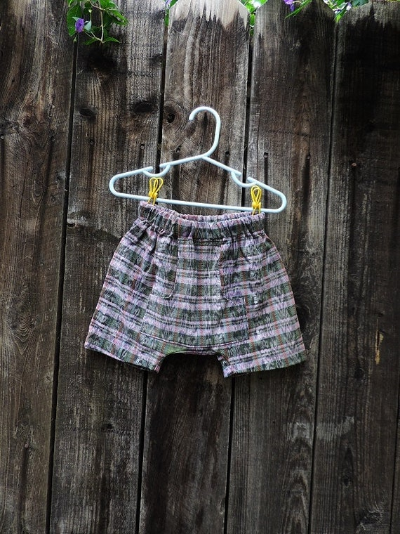 Hippie baby clothes hippie shorts boho toddler shorts by