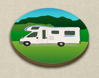 Motor home coaster - singleton or set of 4