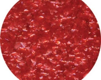 Red Edible Glitter 1/4 Ounce