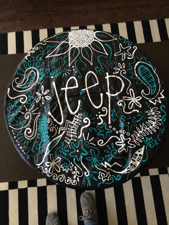Custom Jeep Wheel Cover