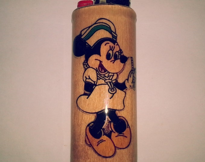 Minnie Mouse Bic Lighter Case Holder Sleeve Cover