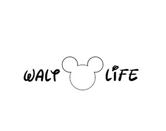 Walt Life Vinyl Car Decal