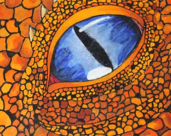 Wood Art- Dragon Eye