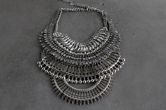 Statement Necklace - Handcrafted: Brooklyn.