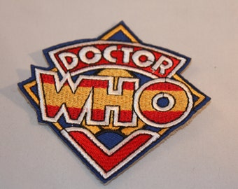Dr Who Patch