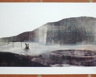 Bear print A3