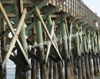 The Pier at Isle of Palms near Charleston, SC! Digital Download Photography